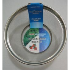 """100 Units of 9.5"""" Round Mesh Stainless Steel Basket"""