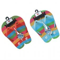 Wholesale Bulk Ladies Rainbow Flip Flops