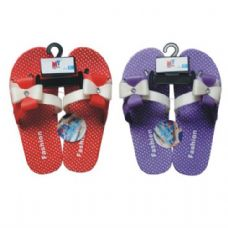 45 Units of Ladies Slipper w/ Dots Bow