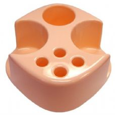 48 Units of Combo Toothbrush Holder Peach