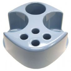 48 Units of Combo Toothbrush Holder Smoke Blue