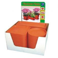 120 Units of Planter Saucer 2PK 3 Style Astd - Tray