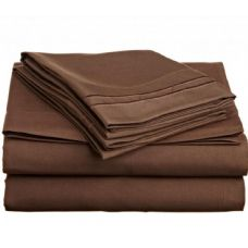 12 Units of twin size 2 line embroidery sheet set assorted colors