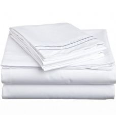 12 Units of king size 2 line sheet sets assorted colors