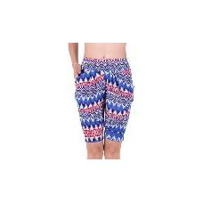 72 Units of Women's Aztec Printed Bermuda with two pockets - Womens Shorts