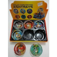 48 Units of Collector's Edition Ashtray *Tattoo - Ashtrays(Plastic/Glass)