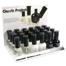 96 Units of KleanColor Nail Lacquer Display Set, Classic Project