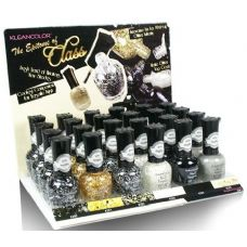96 Units of KleanColor Nail Lacquer Display Set, The Epitome of Class