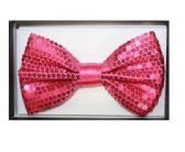 48 Units of BOWTIE AB 023 pink sequined - Wholesale Apparel Accessories