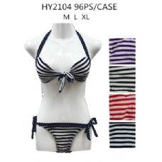 48 Units of Ladies Fashion 2Pc Swim Set - Womens Swimwear