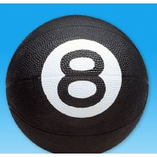 25 Units of Standard size Basketball With An 8 Ball design - Balls
