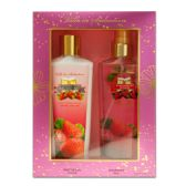 12 Units of 2 piece gift set strawberry nights fragrance mist lotion