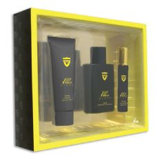 12 Units of 3 piece gift set fast and fierce for men fragrance moisturizer/cream