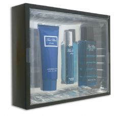 12 Units of 3 piece gift set true blue for men fragrance moisturizer/cream