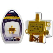 96 Units of TWO WAY GOLD PLATED SPLITTER - Cables and Wires