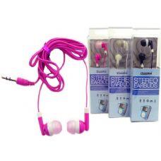 144 Units of EARPHONES 4ASST CLR - Electronics