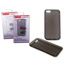 "144 Units of IPHONE 5 COVER 2.4"" X5.7"" CLEAR ,BLACK CLR - Cell Phone & Tablet Cases"