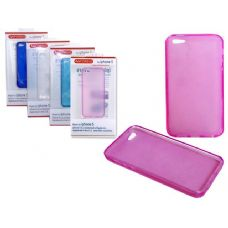 "144 Units of IPHONE 5 TPU COVER 2.4"" X5"" BLACK,RED,PINK CLR - Cell Phone & Tablet Cases"