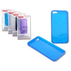 "144 Units of IPHONE 5 TPU COVER 2.4"" X5"" GRAY,BLUE,WHITE,CLR - Cell Phone & Tablet Cases"