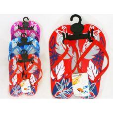 Wholesale Bulk Ladies Printed Flip Flops