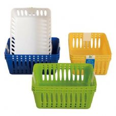 "48 Units of 3 Pack Multi Purpose Baskets 6""x4.5""x2.5"" - Baskets"