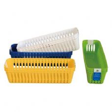 "48 Units of 3 Pack Multi Purpose Baskets 9.9""X2.9""x2.5"" - Baskets"