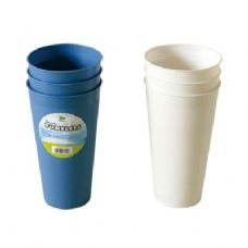 48 Units of 3PK Tumblers 26oz - Plastic Drinkware