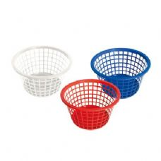 96 Units of Round Laundry Basket - Waste Basket