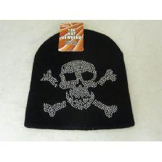 288 Units of Rhinestone Winter Hat - Winter Beanie Hats