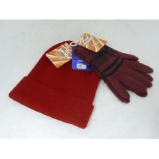 144 Units of HAT & GLOVES 4ASST COLOR - Winter Sets Scarves , Hats & Gloves