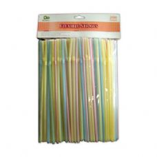 48 Units of 200 Count Drinking Straws - Straws and Stirrers