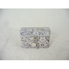 48 Units of TIN JEWELRY BOX US RECT W/LOC - Jewelry Box