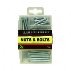 48 Units of Nuts & Bolts - Hardware Miscellaneous
