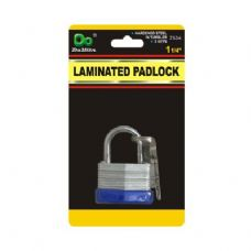 48 Units of Laminated Padlock - PADLOCKS/IRON/BRASS/COMBO