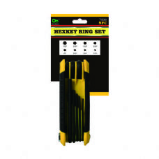 144 Units of 8PC Hexkey Ring Set - Hex Keys
