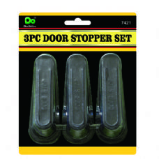 48 Units of 3PC Door Stopper Set - Home Accessories