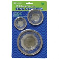 48 Units of 3 Piece Sink Strainers - Strainers & Funnels