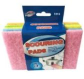 48 Units of SCOURING PADS 5 Pieces - Cleaning Products