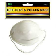 144 Units of 10PC Dust & Pollen Mask - Hardware Miscellaneous