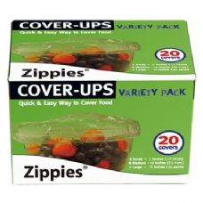 "48 Units of 20 Piece Cover-Ups(7""5PC,10""8PC,12""7PC) - Food Storage Bags"