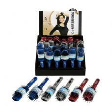 72 Units of Hair Brush,6 Types Assorted - Hair Brushes & Combs