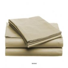 12 Units of 3 piece solid sheet set taupe king size