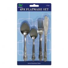 72 Units of 4 Pack Flatware Set