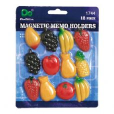 144 Units of Magnetic Memo Holders - Refrigerator Magnets