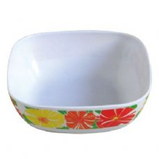 96 Units of Square Melamine Dinner Bowl - Plastic Bowls and Plates