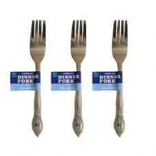 48 Units of 4 Piece Dinner Forks - Kitchen Cutlery