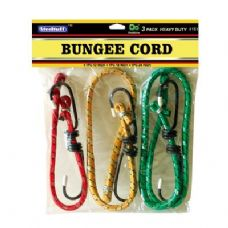 "48 Units of 3PC Bungee Cords 12"",18"",24"" - Bungee Cords"