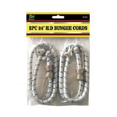 "48 Units of 2PC 24"" H.D Bungee Cords - Bungee Cords"