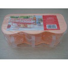 48 Units of CONTAINER 3PC SUGAR,SALT,FLOUR - Plastic Items