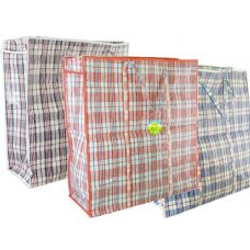 72 Units of Plaid Shopping Bag - Handbags
